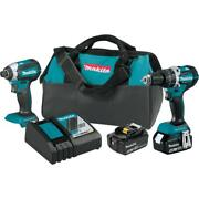18-volt Lxt Lithium-ion Brushless Cordless Hammer Drill Andimpact Driver Combo Kit