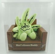 Huf Green Buddy Plush Doll - Limited Edition 420 Collection - Sold Out In Stores