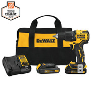 Dewalt Atomic 20v Max Lithium-ion Cordless Brushless 1/2in Compact Hammer Drill