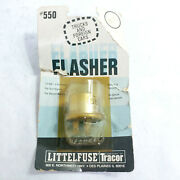 Littelfuse Tracor Flasher 550, For Trucks And Foreign Cars, 12v