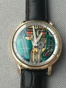 Serviced Authentic Chapter Ring M9 Bulova Accutron Spaceview Men's Watch