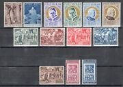1951 Vatican, Stamps New, Year Complete 13 Values, 11 Di Mail Ordi