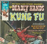 Deadly Hands Of Kung Fu Set 1974 - 1976 Marvel Neal Adams Shang Chi Iron Fist