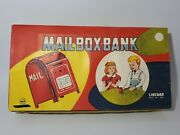 Vintage Linemar Mailbox Banks 12 With Original Store Display New Old Stock Rare