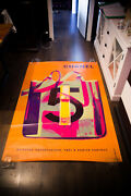 5 X Ray Bag Style C 4x6 Ft Bus Shelter Original Vintage Fashion Poster