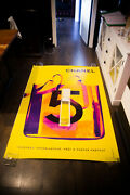 5 X Ray Bag Style D 4x6 Ft Bus Shelter Original Vintage Fashion Poster