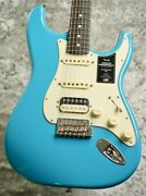 Fender American Professional Ii Stratocaster Hss -mn / Miami Blue- Ggbly