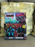 Masters Of The Universe Keldor And Kronis Rise Of Evil 2-pack Target Exclusive