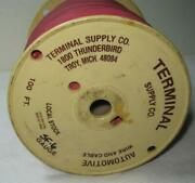 Terminal Supply Superflex 6 Awg 600 Volt Welding Cable Marine Boat Automotive