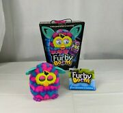 2013 Hasbro Pink Blue Furby Boom With Box Instructions Interactive Toy Works