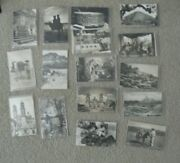 Lot Of 17 Vintage Real Photo Postcard Rppc Mexico Buildings Hotels People More