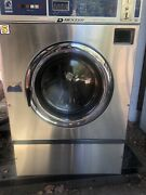 Dexter T400 Triple Load Washer, Stainless Steel Front, Three Phase 220v 60hz