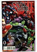 Civil War Ii 0 Stan Lee Collectibles Variant Signed By Ramos