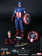 Hot Toys Captain America Avengers Mms174 Mint And New In The Box And Shipper Andnbsp