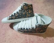 Spreadshoes.com Rottweiler All Over Print High Top Shoes Size 7