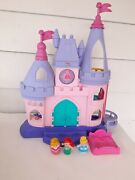 Disney Princess Songs Palace Little People Musical Castle Fisher Price - Works