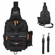 Yvleen Fishing Tackle Backpack - Outdoor Large Fishing Tackle Box Bag - Water-re