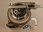 Gt35 Gt30 Gtx3076r Ball Bearing Billet Turbo Charger T3 1.06 V-band A/r Hot .60