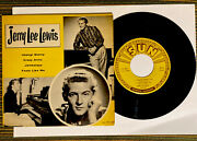 Jerry Lee Lewis Sun Epa-109 Orig First Press Release