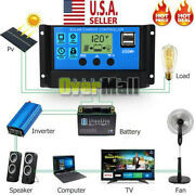 30a-50a-100a Mppt Solar Panel Regulator Charge Controller Auto Focus Tracking Us