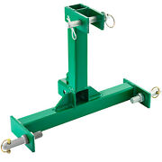 Vevor 3 Point 2 Receiver Trailer Hitch Category 1 Tractor Drawbar Steel