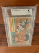 1956 Topps Yankees Phil Rizzuto Bvg Bgs 5