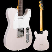 Fender Jimmy Page Mirror Telecaster, Rw Fb, White Blonde Lacquer 218 8lbs 7.2oz