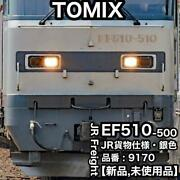 Tomix Jr Ef510-500 Electric Locomotive Cargo Specifications Silvery