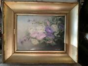 Antique Painting 19th Porcelain Hand Painting German Artist Art Collection
