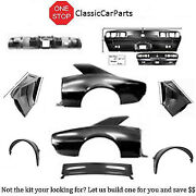 1967 Camaro Rs Tail Panel W/inner Structure Quarters Deck Filler Drop Offs +