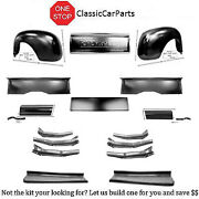 1949 Chevy Truck Short Bedsides Rr Fenders Chevy Tailgate Run Boards Aprons +