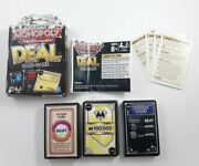 Monopoly Millionaire Deal Card Game Complete Hasbro Parker Brothers 2011