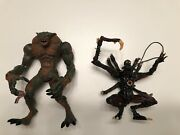1998 Toy Biz Resident Evil Hunter And Chimera Complete Action Figures