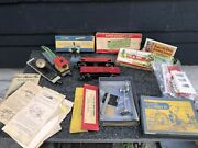 American Flyer Lines Train S Guage Mixed Lot Of Engines/assorted Cars Plus More