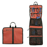 Folding Rock Climbing Caving Quickdraw Sling Carabiner Collection Bag Pouch