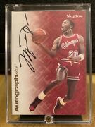 2013 Michael Jordan Skybox Autographics Rp. Mint And Extremely Rare A++