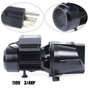0.75hp Shallow Well Jet Pump W/pressure Switch 3/4 Hp Self-priming Water Pump