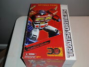 Optimus Prime 30th Thrilling 30 Platinum Edition Year Of The Horse New Sealed