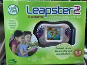 Brand New Leap Frog Leapster 2 Learning Game System Handheld Pink