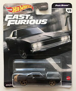 2021 Hot Wheels Fast And Furious - Dodge Charger Black And Gold - F9 New