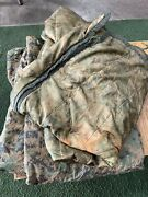 Authentic Usmc Military Poncho Liner Marpat Woobie Blanket With Zipper