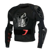 Alpinestars Bionic Tech Bns Protection Jacket - Black White Red Was Andpound249.99
