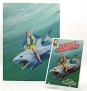 Rare Flash Gordon 1980 Original Troubled Waters Cover Painting And Comic 30