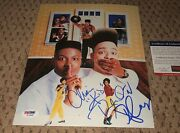 Kid N Play Signed 8x10 Photo Autograph Psa Dna Autographed House Party And Rap