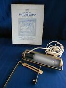 Vintage Eagle Brass Gold Picture Frame Light Lamp For Portraits And Paintings Work