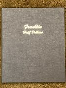 Complete 35 Coin Franklin Half Dollar 90 Silver Set Collection 1948 To 1963