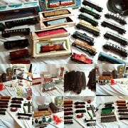 Ho Scale Train Lot Trains Tracks Parts Accessories Asis Free Shipping