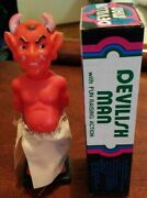 Devilish Man Vintage Adult Novelty Toy W/raising Action 1970 In A1 Condition