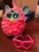 Furby Boom Talking Boom Toy By Hasbro Hot Pink W/glasses, 2012