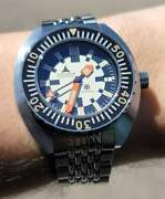 Synchron Military - Doxa Army Sub Homage Watch - Eta 2824 - Limited To 250 In Ss